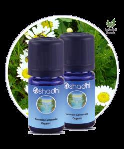 Oshadhi økologisk blå kamille eterisk olje