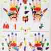 plakat reflekssoner hånd