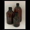 flaske brun plast
