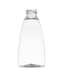 flaske klar oval plast