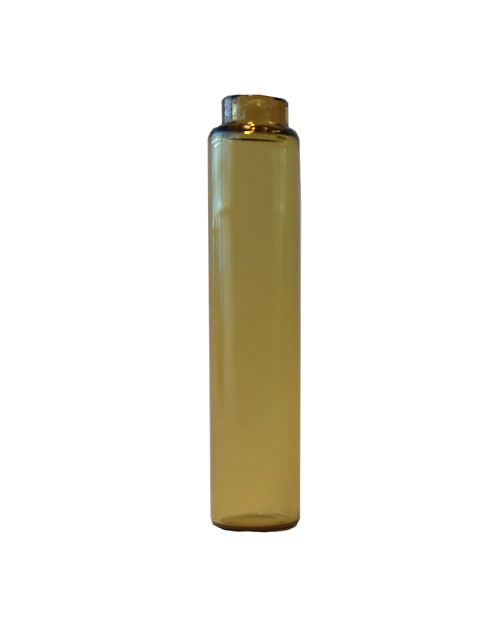 testglass 2 ml brunt