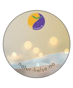 etiketter for egenmerking med natur&helse logo
